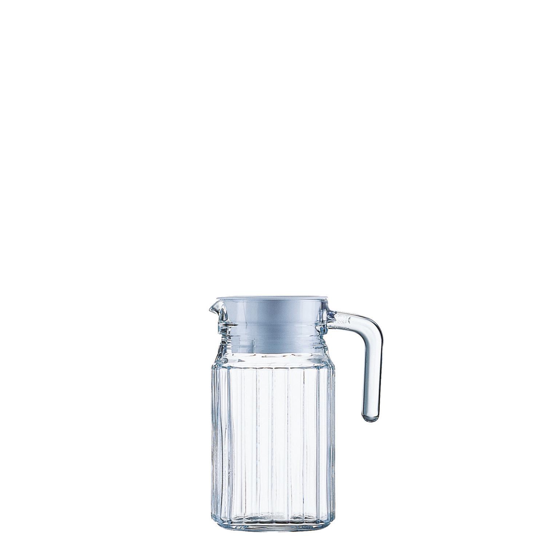 Quadro, Kühlschrankkrug mit Deckel ø 85 mm / 0,50 l