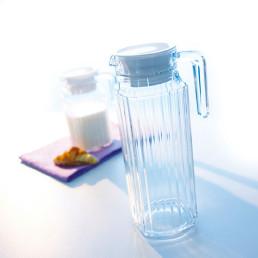 Quadro, Deckel weiß für Kühlschrankkrug