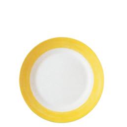 Brush Yellow, Restaurant Teller flach ø 235 mm gelb