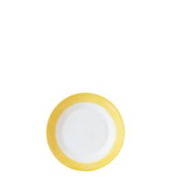 Brush Yellow, Restaurant Teller flach ø 155 mm gelb