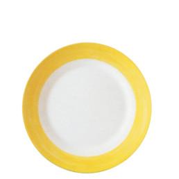 Brush Yellow, Restaurant Teller flach ø 254 mm gelb