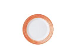 Brush Orange, Restaurant-Teller flach ø 235 mm orange