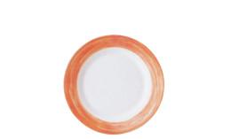 Brush Orange, Restaurant-Teller flach ø 254 mm orange