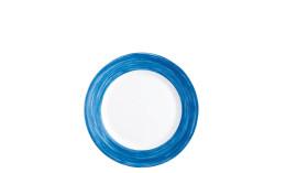 Brush Blue Jean, Restaurant Teller flach ø 235 mm blue jean