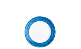 Brush Blue Jean, Restaurant Teller tief ø 225 mm blue jean