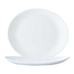 Restaurant White, Steakteller flach 300 x 261 mm