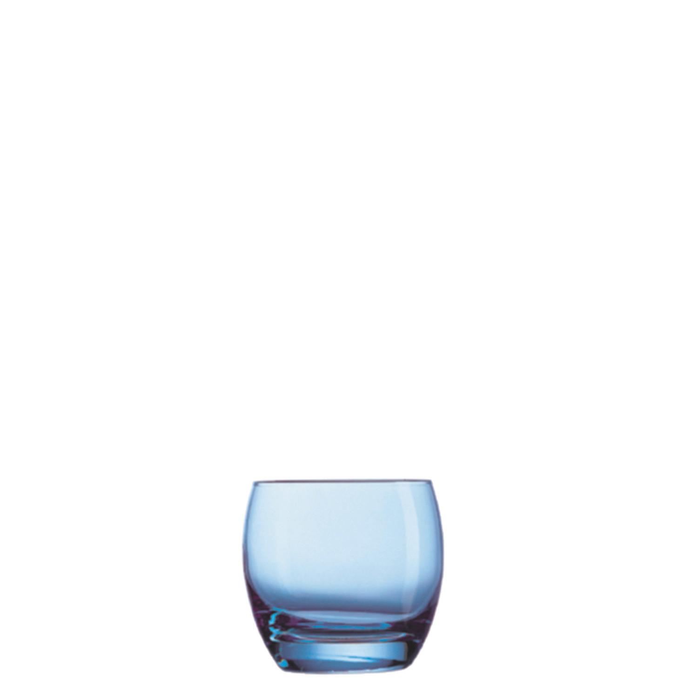 Salto Ice Blue, Whiskyglas ø 90 mm / 0,32 l blau