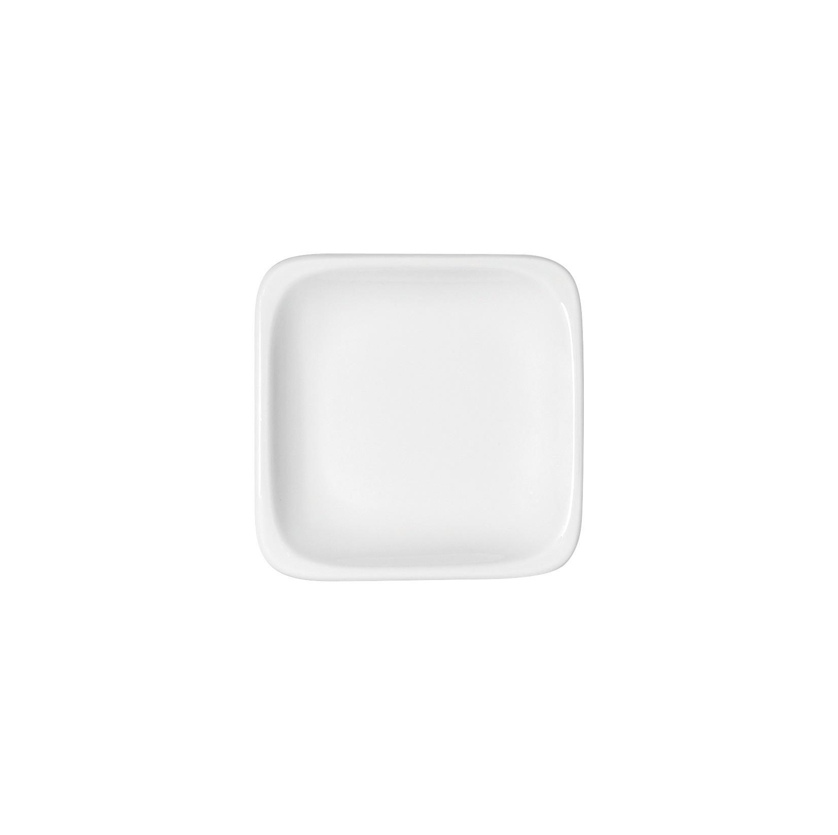 B1100, Teller flach quadratisch 95 x 95 mm
