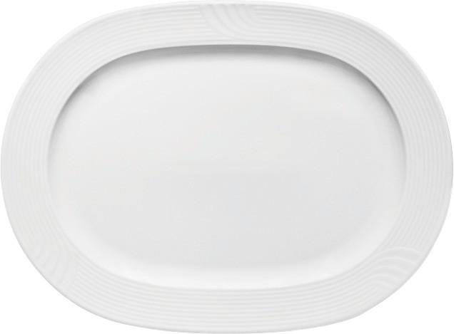 Carat, Platte oval mit Fahne 360 x 267 mm