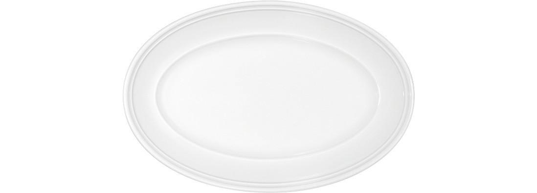 Come4table, Platte oval mit steiler Fahne 202 x 135 mm