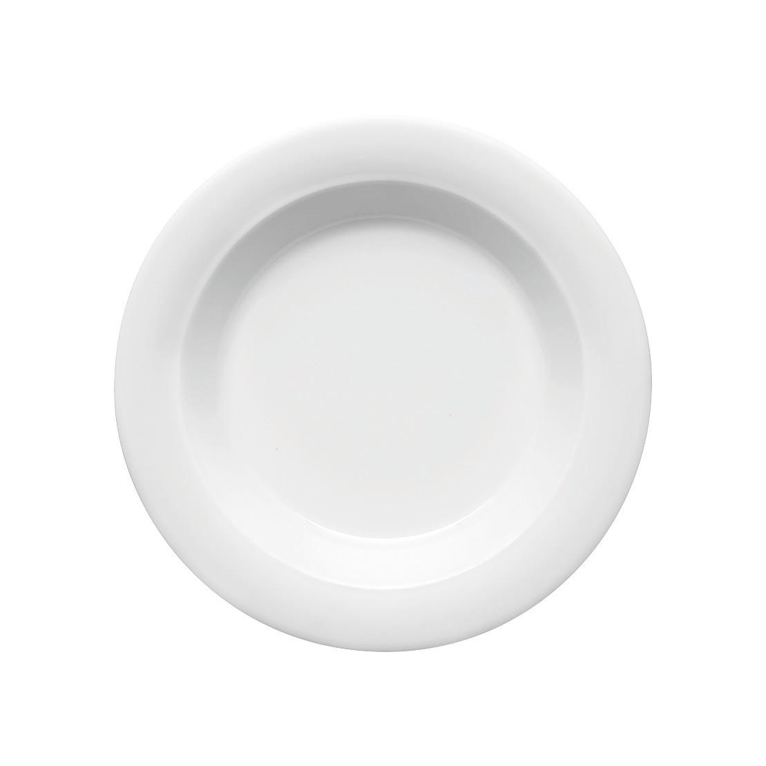 Dimension Invita, Spezialteller tief Fahne ø 230 mm / 0,40 l weiß