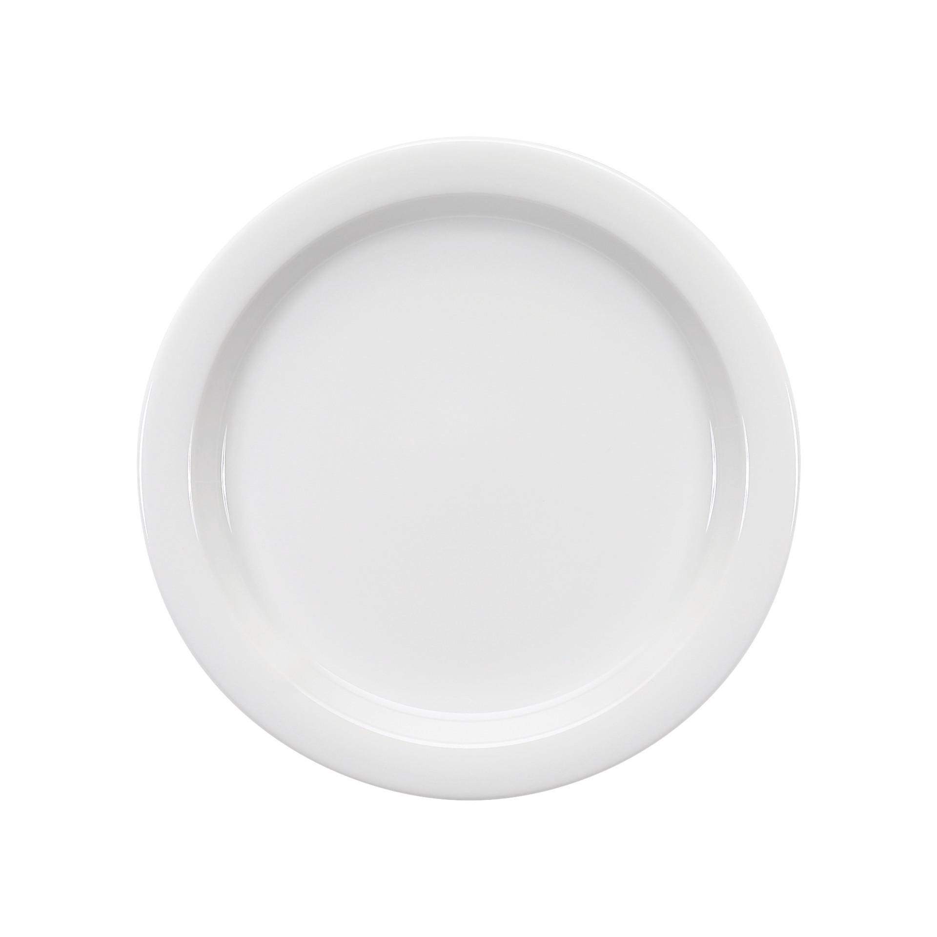 Dimension Invita, Spezialteller halbtief mit Fahne ø 240 mm weiß