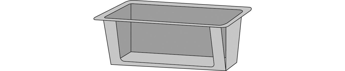 Emotion 2in1, Brennerhalter 258 x 200 x 90 mm