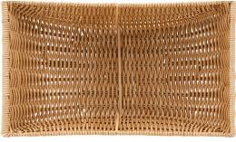 Emotion, Korb Kunststoff rechteckig groß 430 x 270 x 100 mm natur