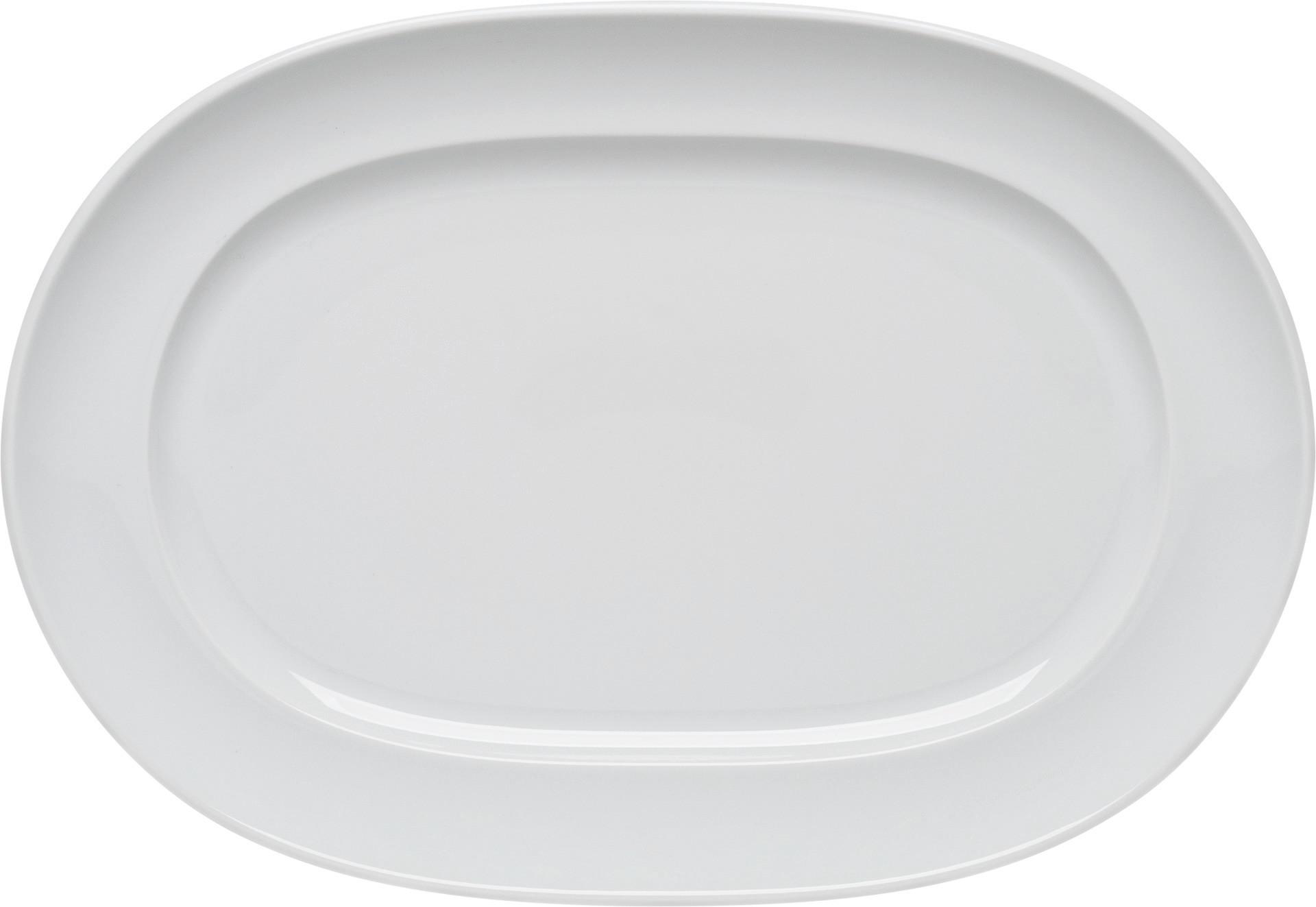 Enjoy, Platte oval mit Fahne 360 x 250 mm