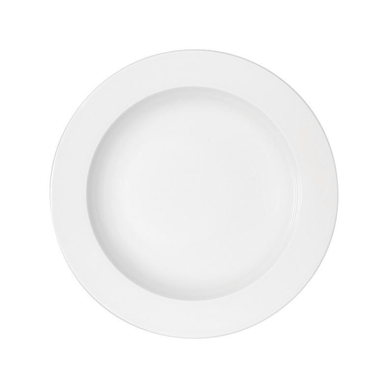 Maitre, Teller tief mit Fahne ø 233 mm / 0,33 l