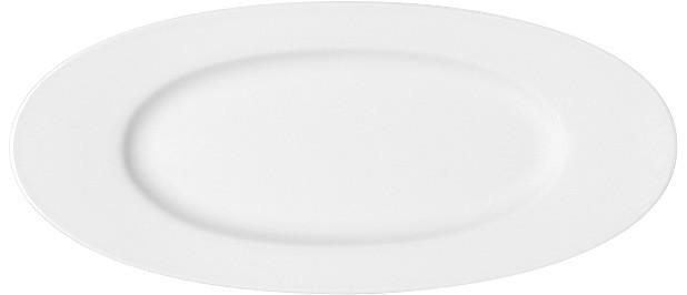 Maitre, Platte oval mit Fahne 302 x 134 mm