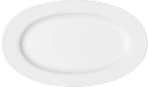 Maitre, Platte oval mit Fahne 330 x 198 mm