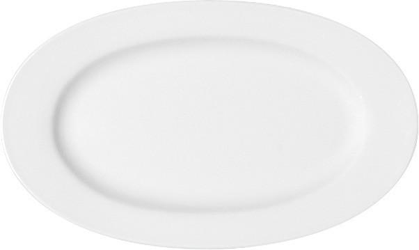 Maitre, Platte oval mit Fahne 384 x 216 mm