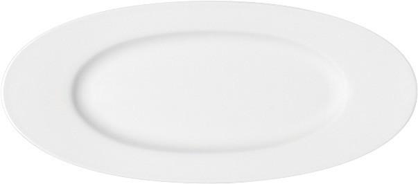 Maitre, Platte oval mit Fahne 446 x 197 mm