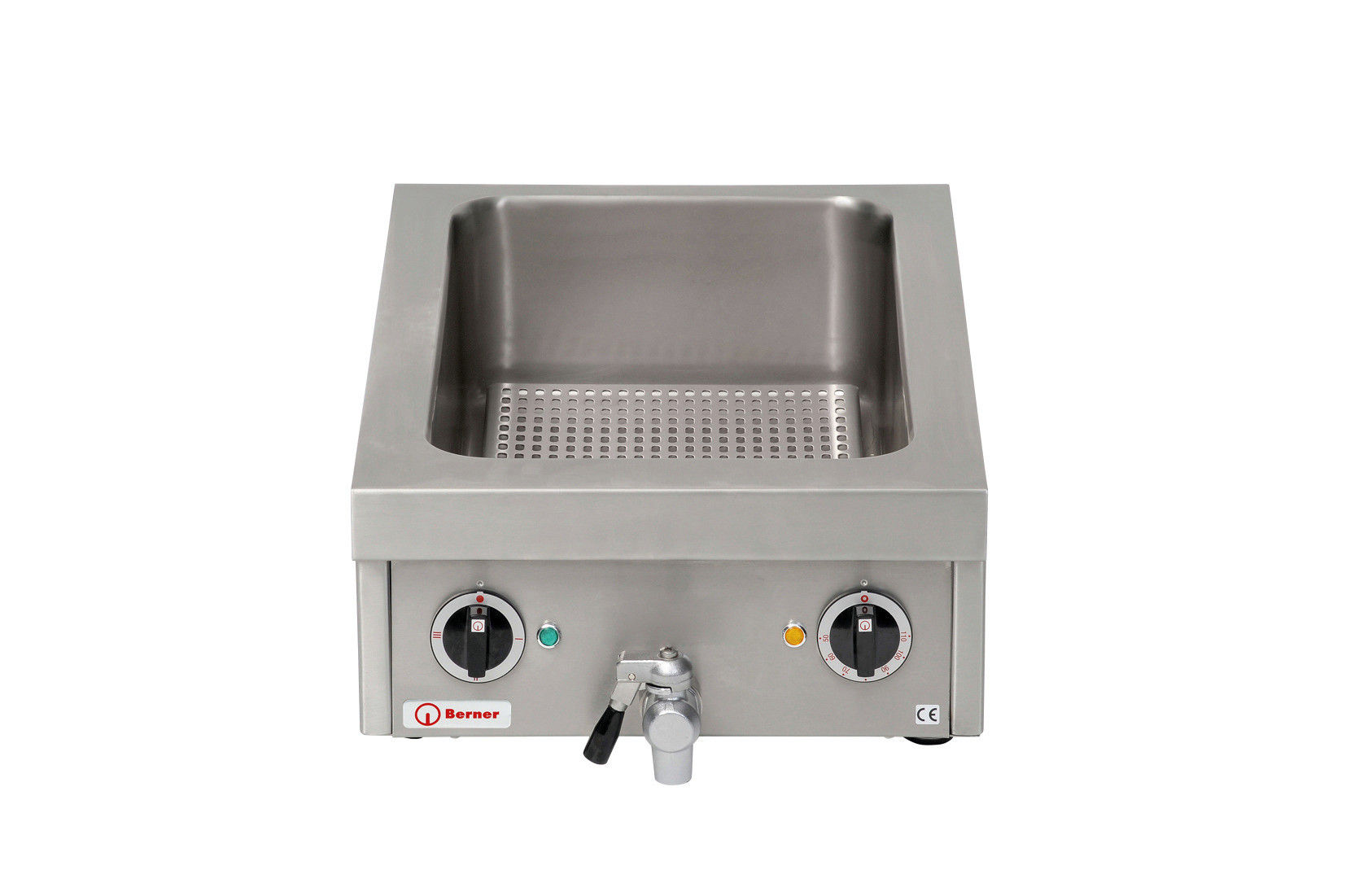 Elektro-Kocher 1 Heizzone / GN 1/1 - 150 mm tief /  / 7,00 kW