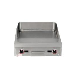 Induktions-Bratplatte glatt / 2 Heizzonen / Bratfläche 520 x 520 mm / 10,00 kW