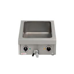 Wasserbad 1 Heizzone / GN 1/1 - 150 mm tief / 1,80 kW