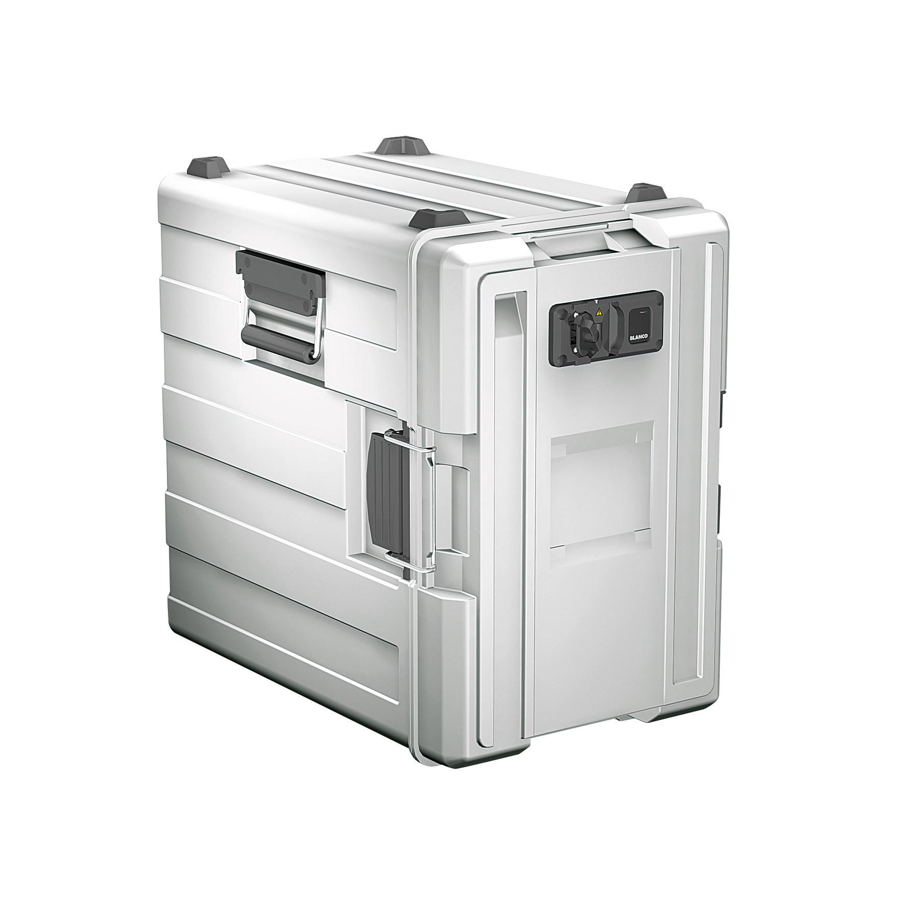 Blancotherm Frontlader Kunststoff / beheizt / 3 x GN 1/1 / mit Flügeltür