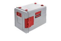 Blancotherm Frontlader Kunststoff / beheizt / 2 x GN 1/1 / mit Flügeltür