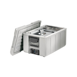 Blancotherm Toplader Kunststoff / beheizt / GN 1/1 / mit Deckel