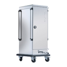 Bankettwagen Umluft gekühlt / 10 x GN 2/1 / 4 Lenkrollen