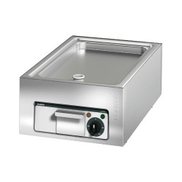 Elektro-Grillplatte glatt / Bratfläche 506 x 304 mm / Auftischgerät