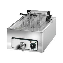 Elektro-Fritteuse 1 x 6,50 l / 5,00 kW / 620 x 400 x 240 mm / Auftischgerät