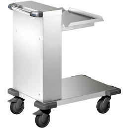 Tablettspender offen ca. 100 Tabletts max. 530 x 370 mm / Stapelhöhe 700 mm