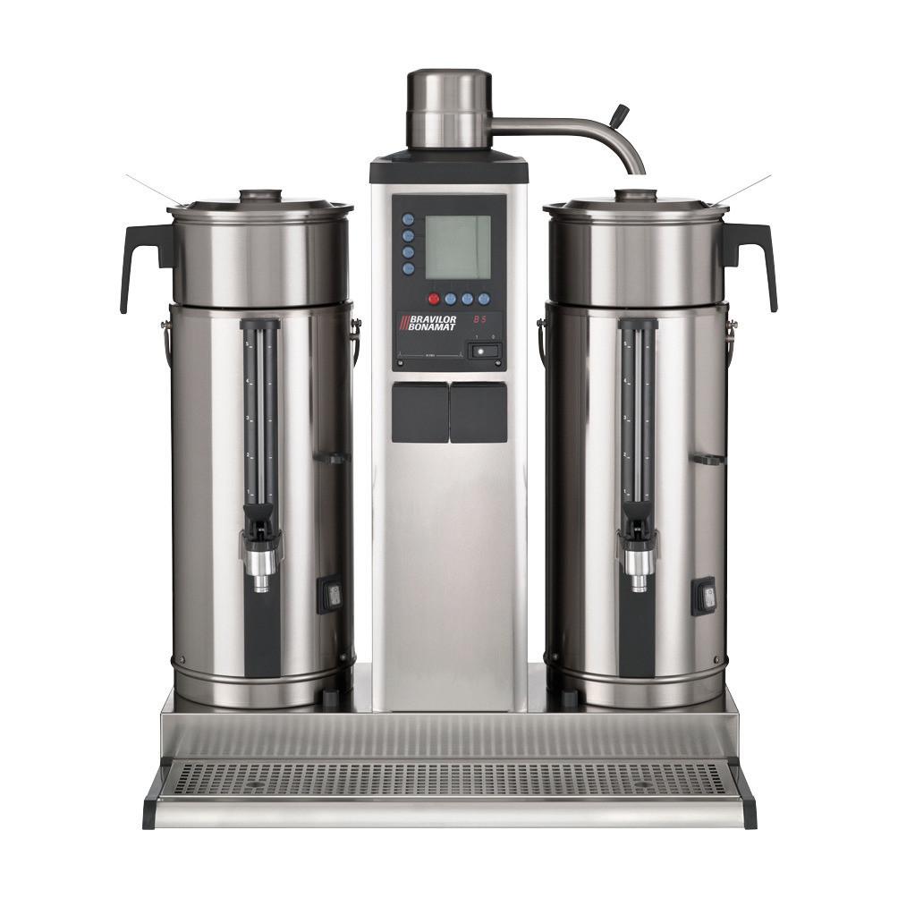 Filterkaffeemaschine 2 x 5,00 l / mit Wasseranschluss / 400 V