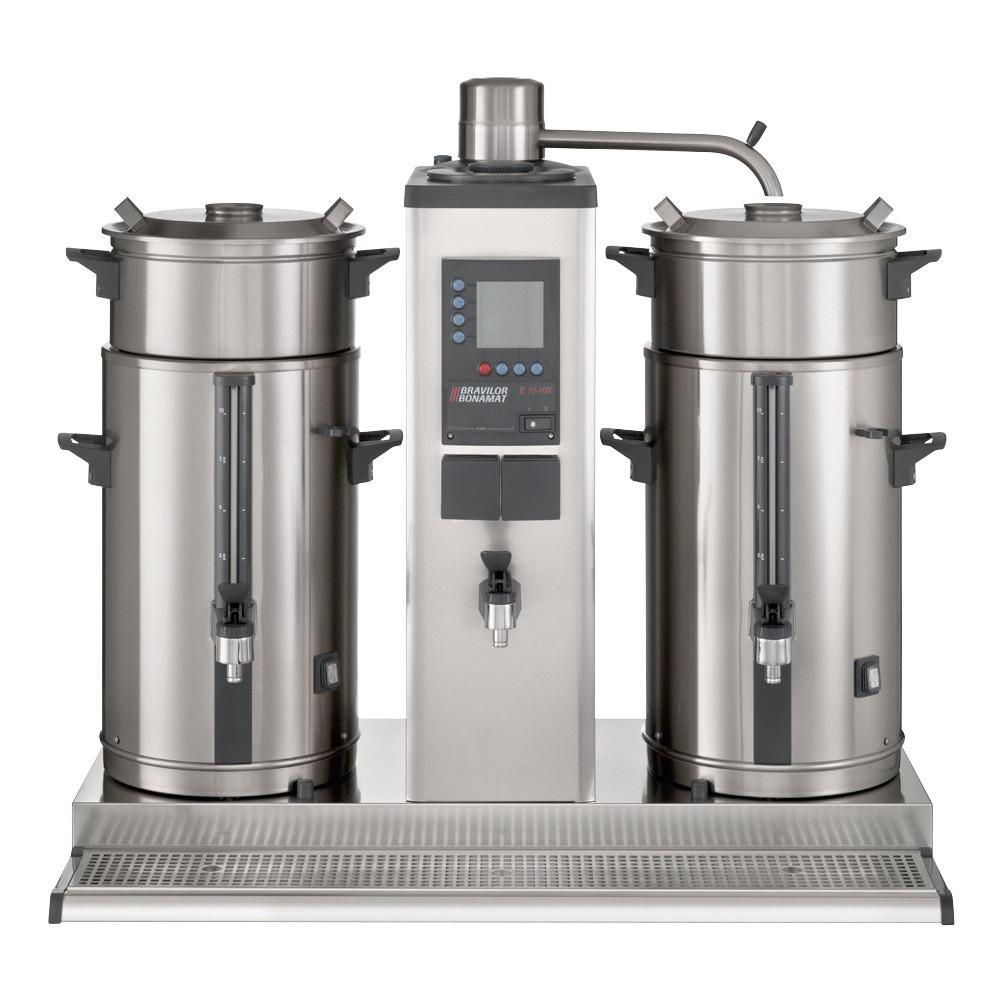 Filterkaffeemaschine 2 x 5,00 l Kaffee / 3,00 l Heißwasser / 400 V