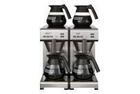 Filterkaffeemaschine 4 Kannen / 48 Tassen / mit Wasseranschluss / 400 V