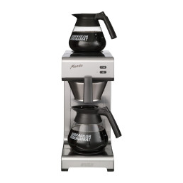 Filterkaffeemaschine 2 Kannen / 24 Tassen / ohne Wasseranschluss / 230 V