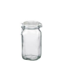 Fido, Einmachglas 1,50 l / 131 x 131 x 220 mm mit Bügelverschluss