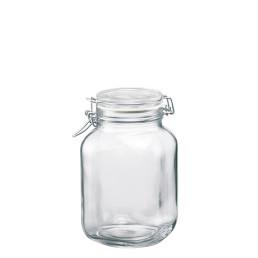 Fido, Einmachglas 2,00 l / 144 x 144 x 216 mm mit Bügelverschluss