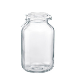 Fido, Einmachglas 4,00 l / 160 x 160 x 279 mm mit Bügelverschluss
