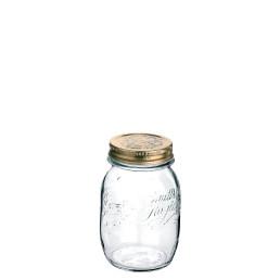 Quattro Stagioni, Einmachglas ø 90 mm / 0,50 l mit Metallschraubverschluß