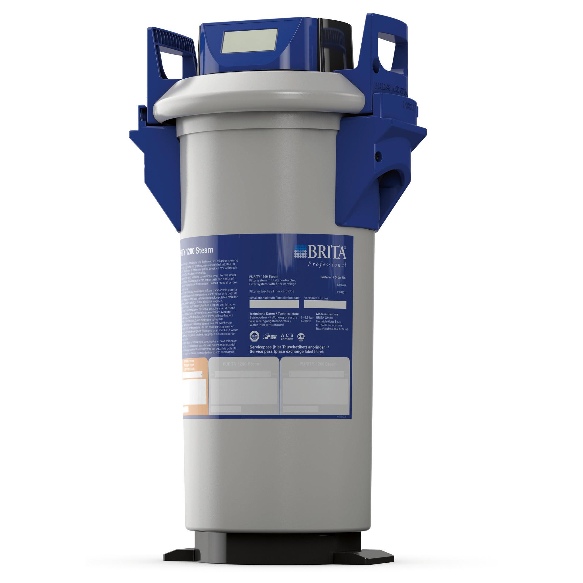 Filtersystem Purity 1200 Steam mit MAE