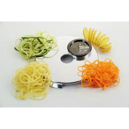 Gemüse-/ Spaghettischneider 2 mm / 3 mm und Girlandenschnitt für GSM 5 Star