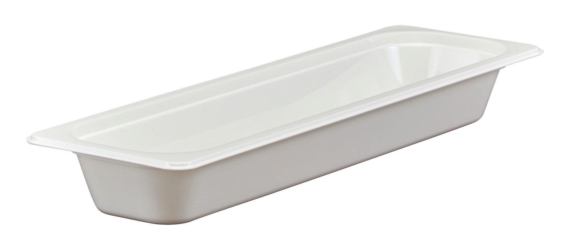 GN-Behälter GN 2/4 3,00 l / 530 x 162 x 65 mm weiß
