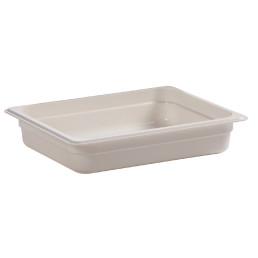 GN-Behälter GN 1/2 3,90 l / 325 x 265 x 65 mm weiß