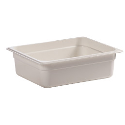 GN-Behälter GN 1/2 5,90 l / 325 x 265 x 100 mm weiß