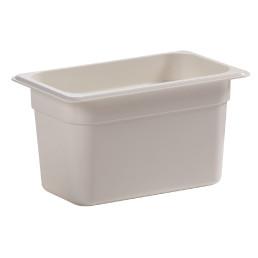 GN-Behälter GN 1/4 3,70 l / 265 x 162 x 150 mm weiß