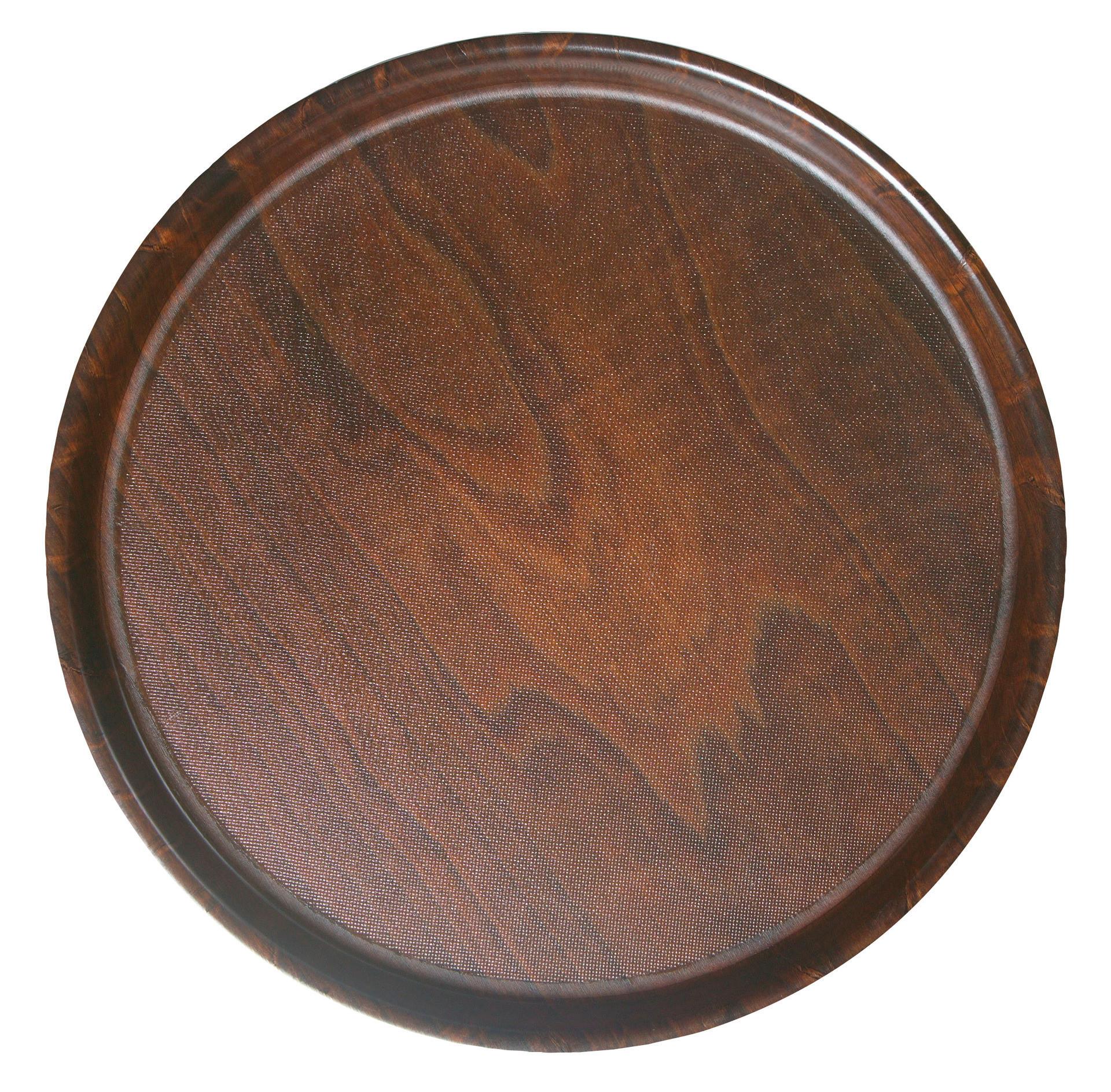 Tablett Pressholz rund 320 mm