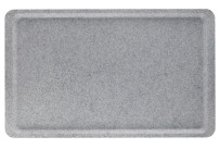 Antibakterielles-Camguard-Versa-Tablett EN 1/2 370 x 265 mm granit